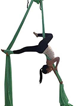 F. vida antena Silks estándar Kit Pilates Yoga Flying Swing ...