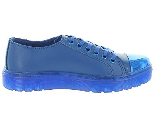Alexei16571400blue Bleu Femme Dr Sneakers Martens Cuir aYpX5