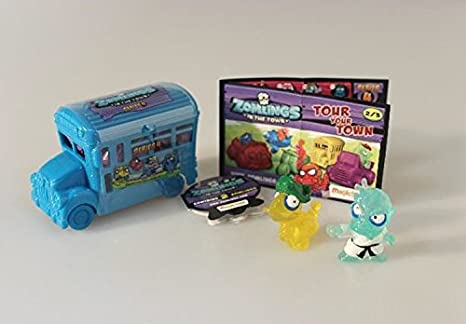Autobús Zomlings, Serie 4 - MagicBox P00738: Amazon.es: Electrónica