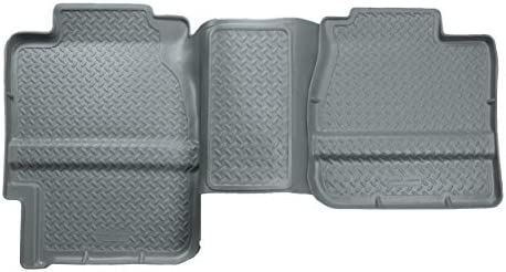 Husky Liners – 61102 Fits 1988-99 Chevrolet/GMC C1500/K1500 Extended Cab, 1988-00 Chevrolet/GMC C2500/C3500/K2500/K3500 Classic Style 2nd Seat Floor Mat Grey