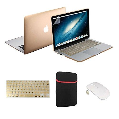 Macbook Pro Case Cover, RavTech(TM) [5 in 1 Bundle] Matte...