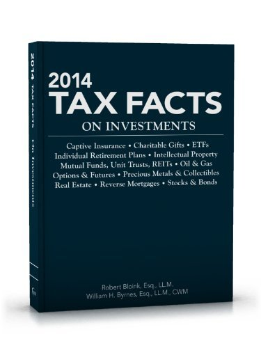 Read Online By Robert Bloink - 2014 Tax Facts on Investments (2014) (2013-09-30) [Paperback] PDF