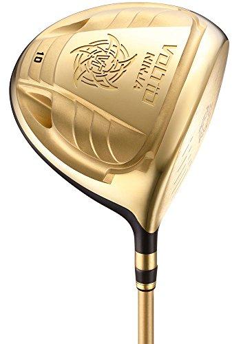 KATANA GOLF(カタナゴルフ) ドライバー VOLTIO NINJA 880Hi GOLD ドライバー フジクラ製オリジナルSpeeder 561 カーボンシャフト ロフト角:10度 フレックス:S