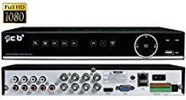 CIB True 1080P HD 8CH Recording and Display DVR system with 2TB HDD with Network Remote Viewing For Most AHD System HD Camera and all 480TLV to 960H TVL Analog Cameras-- H80P08K2TB