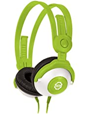 Kidz Gear Wired Headphones For Kids - Green