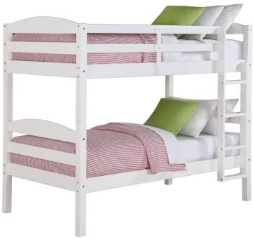 Better Homes and Gardens Leighton Wood Bunk Bed Twin Over Twin