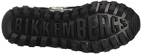 Bikkembergs Fend-Er 866, Zapatillas de Estar por Casa para Hombre negro