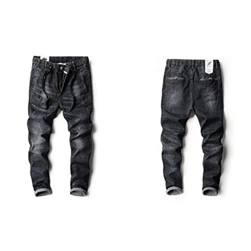 Qk Ufige Pantaloni Nero Sportivi Degli Comodi Traspiranti Di Dei Estate Uomini Ragazzo Jeans lannister Popolari All'aperto frwgCqf