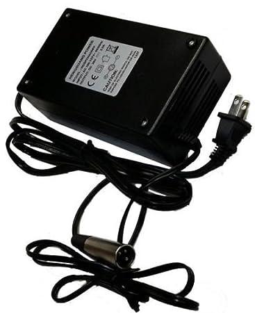 Amazon.com: 36 Volt Charger 2.5 Amp XLR Plug para Evo 500 ...