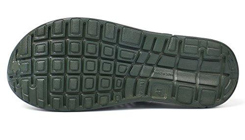 Walking Unisex Shoes Green Women Slip Eagsouni Anti Casual Clogs Men Beach Sandals Quick Army Summer Garden Drying Slippers 1w6xw4F