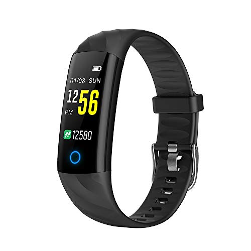Lixada Fitness Tracker HR,Activity Tracker Watch with Heart Rate Monitor,IP67 Water Resistant Smart Bracelet with Calorie Counter Pedometer Watch for Android and iOS (Best Fitness Tracker For Biking)