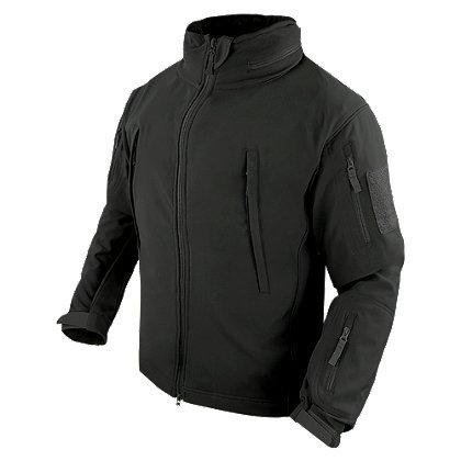 Condor Summit Soft Shell Tactical Jacket, Color Black, Size XL
