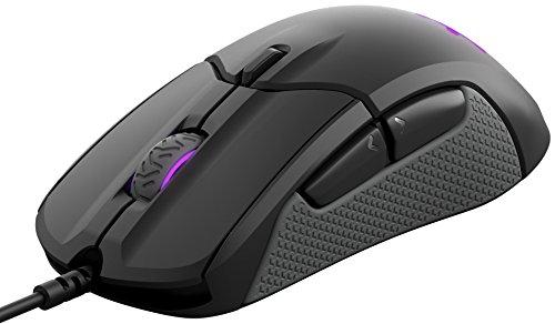 SteelSeries Rival 310 Gaming Mouse - 12,000 CPI TrueMove3 Optical Sensor - Split-Trigger Buttons - RGB Lighting