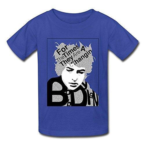Bob Dylan New T-shirt - Youth Awesome Brand New Bob Dylan Logo T-Shirt White US Size XL