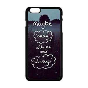 "Danny Store Hardshell Cell Phone Cover Case for New iPhone 6 Plus (5.5""), Quotes from The Fault in Our Stars"