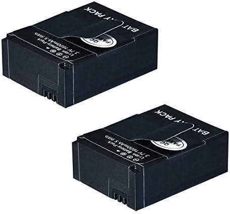 Microfiber Cloth AHDBT-301//AHDBT-302 1600 mAh for Gopro Camera 2 GoPro Hero3//Hero3+ Replacement Battery
