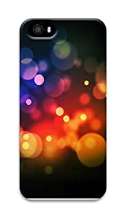 iPhone 5 5S Case Colorful Abstract N003 3D Custom iPhone 5 5S Case Cover