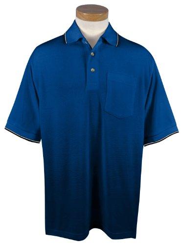 Tri Mountain Mens 7 8 Oz 60 40 Moisture Wicking Golf Shirt   117 Conquest