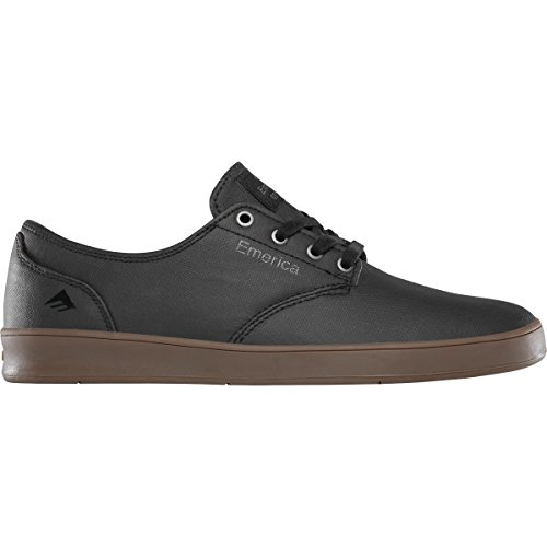 Emerica Men's the Romero Laced Skate Shoe, Black/Gum/Dark Grey, 13 Medium US