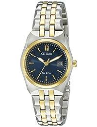 Citizen Women's Corso EW2294-53L Wrist Watches, Blue Dial