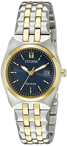 (Citizen Women's Eco-Drive Stainless Steel Watch with Date, EW2294-53L)