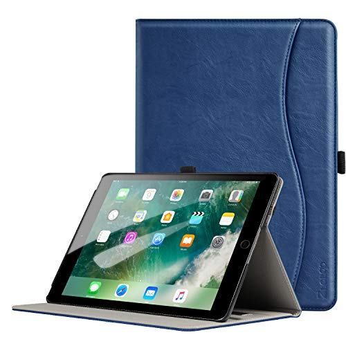 Ztotop Case for iPad Pro 9.7 Inch 2016, Premium PU Leather Business Folding Stand Folio Cover with Auto Wake/Sleep and Multiple Viewing Angles for iPad Pro 9.7 2016 Release