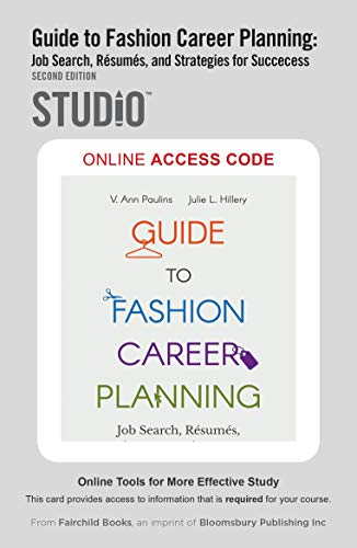 Guide to Fashion Career Planning: (2nd Edition)