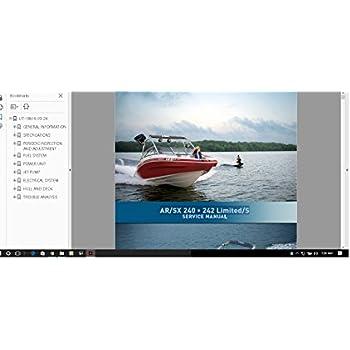 yamaha jet boat service manual sx ar 240 242 limited / s service manual  library