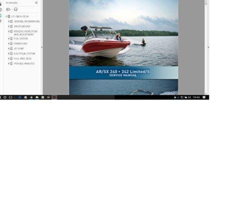 - Yamaha Jet Boat service manual SX AR 240 242 limited / S Service Manual Library