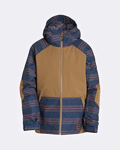 Billabong Day Boys Insulated Snow Jacket, Apple Butter, L