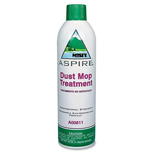 Misty A00811 16 oz Aerosol Can, Aspire Dust Mop Treatment (Case of 12)
