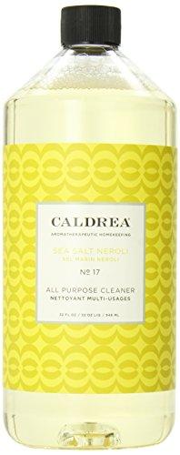 Caldera Floor Tile (Caldrea All Purpose Cleanser, Sea Salt Neroli, 32 Fluid Ounce)