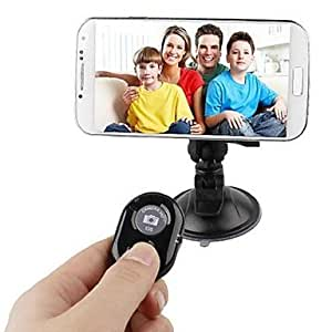 Ships in 24 hours Universal Bluetooth V3.0 Camera Shutter Remote Control for iPhone/Samsung and Others(Assorted Colors) , Green