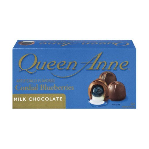 Queen Ann Cordial Blueberries Milk Chocolate -2 Boxes by Queen Anne Cordials
