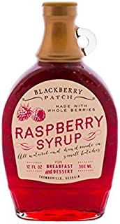 product image for BLACKBERRY PATCH Raspberry Syrup 1, 12 FZ