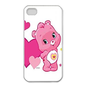 iphone4 4s phone cases White Care Bear fashion cell phone cases TRUG1009395