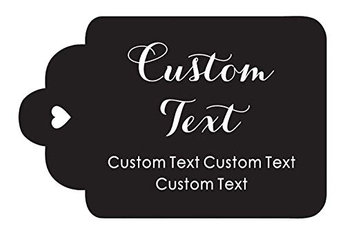 Customized Favor - 100 PCS Personalized Paper Hang Tags Made Any Text Custom Tags Wedding Favor Gifts