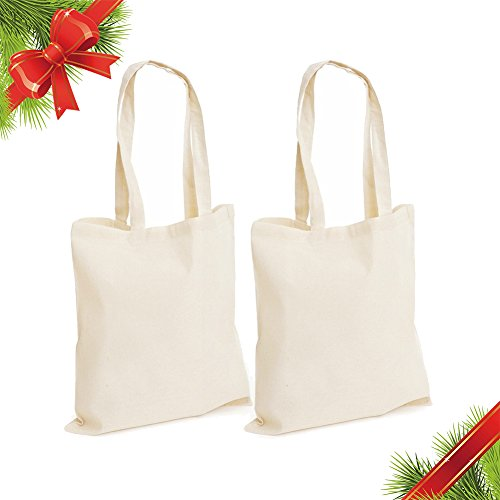 Religious Canvas Tote Bags (Christmas Gift Twin Tote Bag | 2 Pcs 14