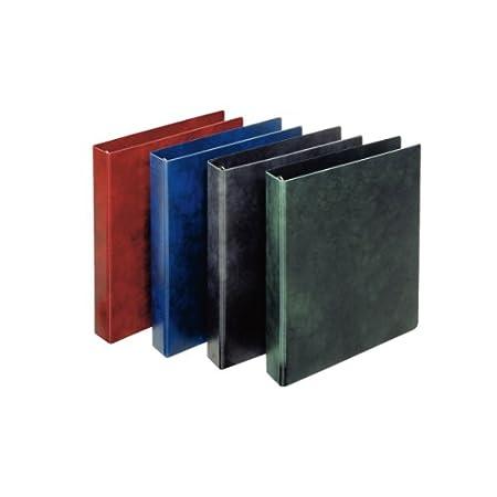 Esselte Raccoglitore a 4 anelli, Formato Extra, Dorso 4.6 cm, Cartone rivestito in PVC, Blu, Prestige, 390562050