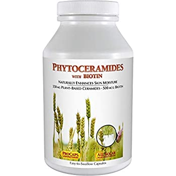 Image of Andrew Lessman Phytoceramides 350 with Biotin 240 Softgels – Skin's Vital Natural Internal Moisturizer. Naturally Enhances Soft, Smooth, Radiant Skin. No Additives. Small Easy to Swallow Softgels Health and Household