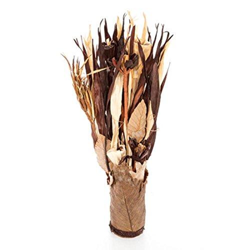 Darice JR-0171 Dried Floral Bouquet Arrangement-Neutral Colors by Darice