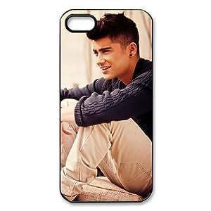 Custom Your Own Personalised Hard Zayn Malik iPhone 5 Cover, Snap On Zayn Malik iPhone 5 Case by runtopwell