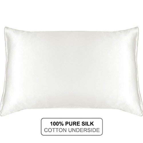 Hypoallergenic Pillow Case Cover Cushion Natural Silk Home