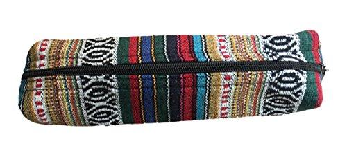 New Funky Stoff Federmäppchen Make Up Tasche Art Craft Ethnic Fair Trade Nepalesische–pcn5