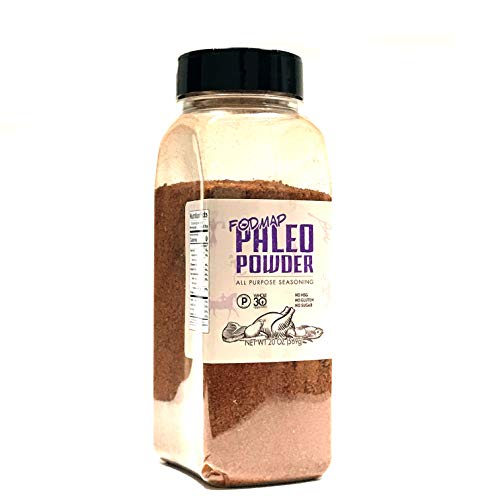 Paleo Powder Fodmap All Purpose Seasoning. The Original Low Fodmap Paleo Food Seasoning Great for all Paleo Diets! Certified Keto Food, Paleo Whole 30, Low Fodmap Food, Gluten Free | 24 Fl Oz