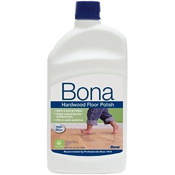 Bona Hardwood Floor Polish   High Gloss, 32 Oz.