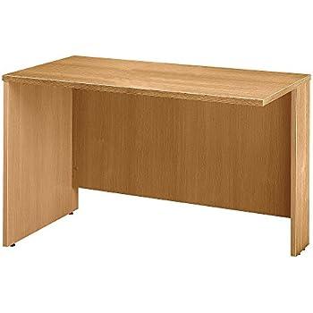 Amazon.com: Bush BBF Series C 66 W Desk Shell en roble claro ...