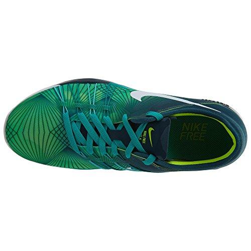 Blanc Jade Noir Chaussures 6 de Femme Trainer Transparente Volt Free Moyen Nike Turquoise Fitness C8wqvn0