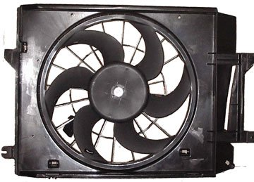 Radiator Cooling Fan Assembly for 99-02 Nissan Quest Mercury Villager