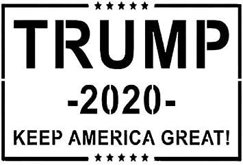Trump Train 2020 Stencil Reusable Template 14x11-11x8.5-5x4 MAGA